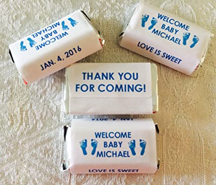 Amazon 180 Boy Or Girl Footprints Baby Shower Candy Wrappers