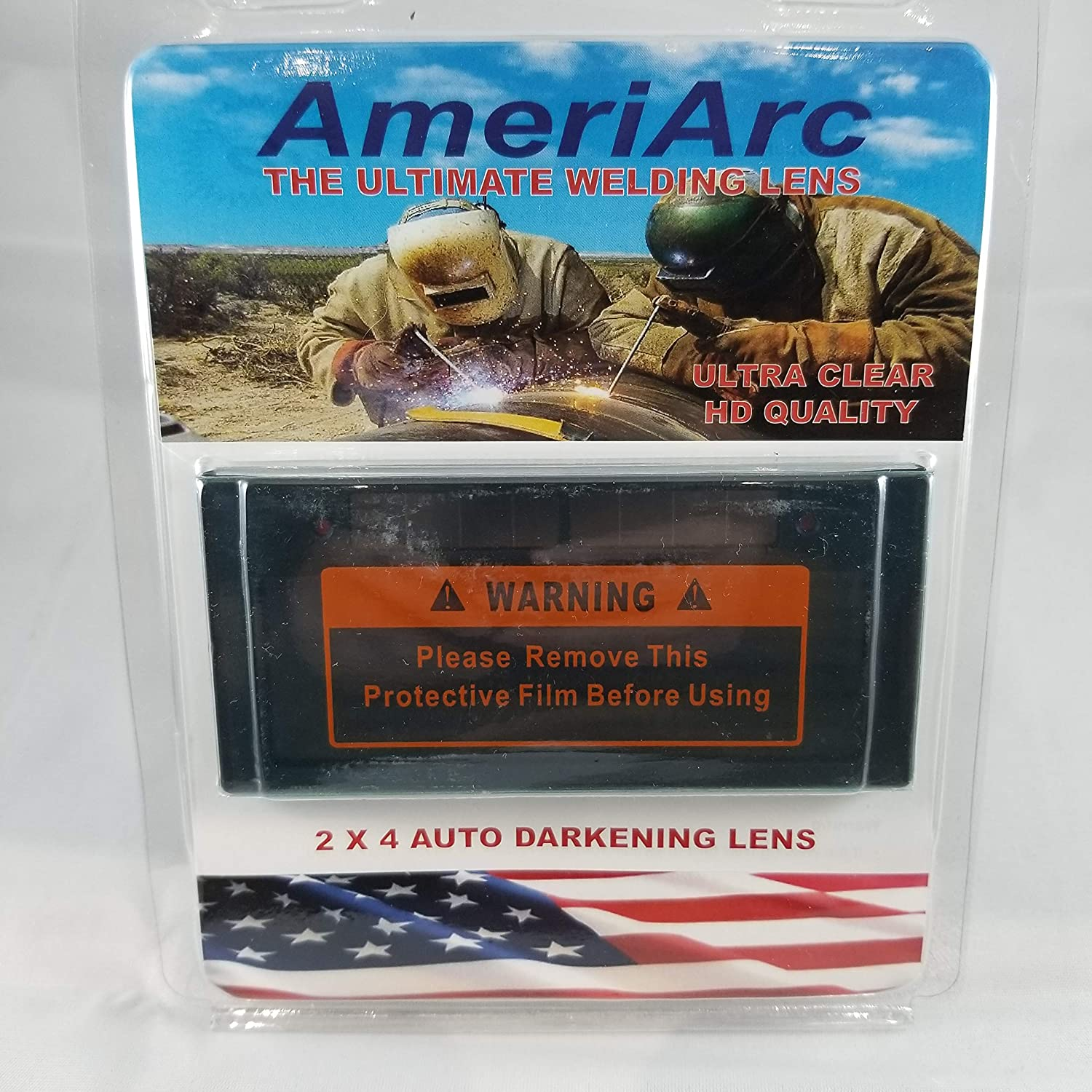 Ameriarc Auto Darkening Welding filter 2x4 Shade 11