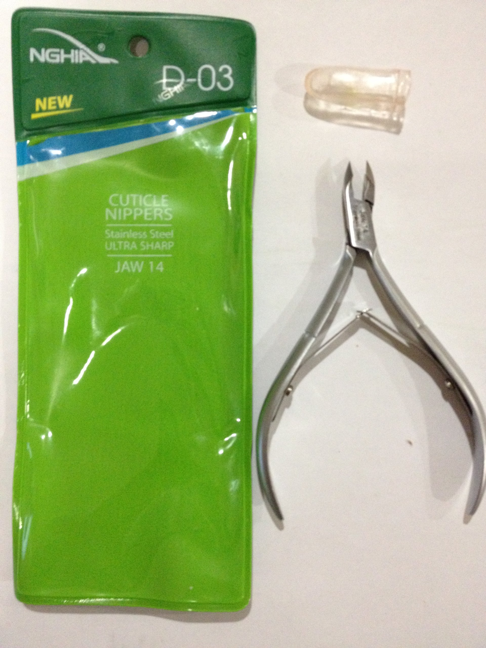 Nghia cuticle nippers D-03 jaw 14