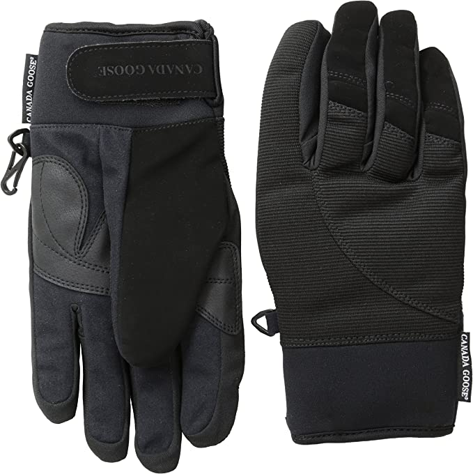 Amazon Com Canada Goose Men S Winter Driving Gloves Black