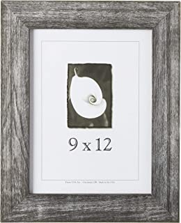 product image for Frame USA Farmhouse Series 9x12 Barnwood Picture Frames (Charcoal)