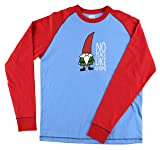 No Place Like Gnome Men's Mens Pajama Shirt TOP