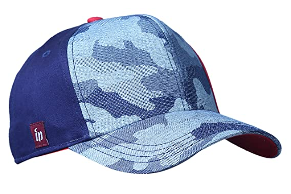 7e1b3e828e2 Image Unavailable. Image not available for. Colour  Zacharias Unisex Half  Camouflage Printed Cap