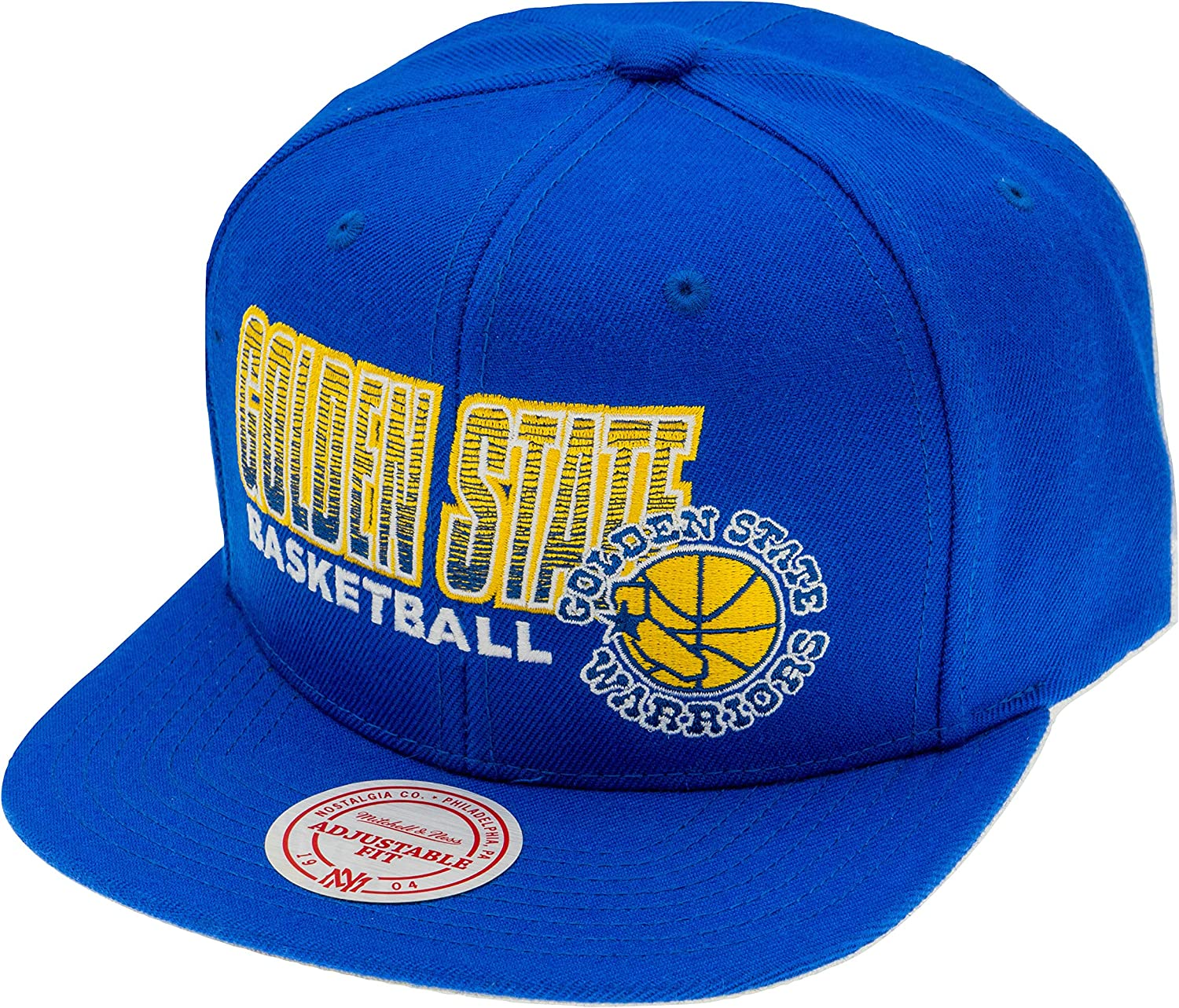 Mitchell & Ness Golden State Warriors NBA Snapback Gorra: Amazon ...