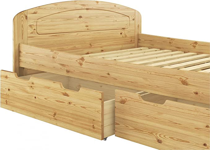 Erst-Holz Robusto Matrimonio 200 x 220 Pino Eco, Somier ...