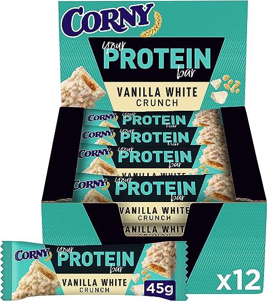 Corny - Barritas de Proteínas de Vainilla y Frutos Secos, Sin ...