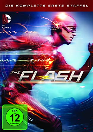 The Flash Staffel 1 5 Dvds Amazonde Grant Gustin
