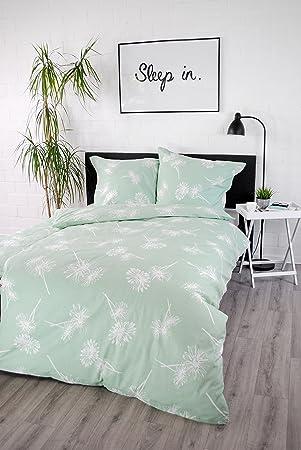 Jilda Tex Bettwäsche 100 Baumwolle Design Daisy 135x200 Cm Mit