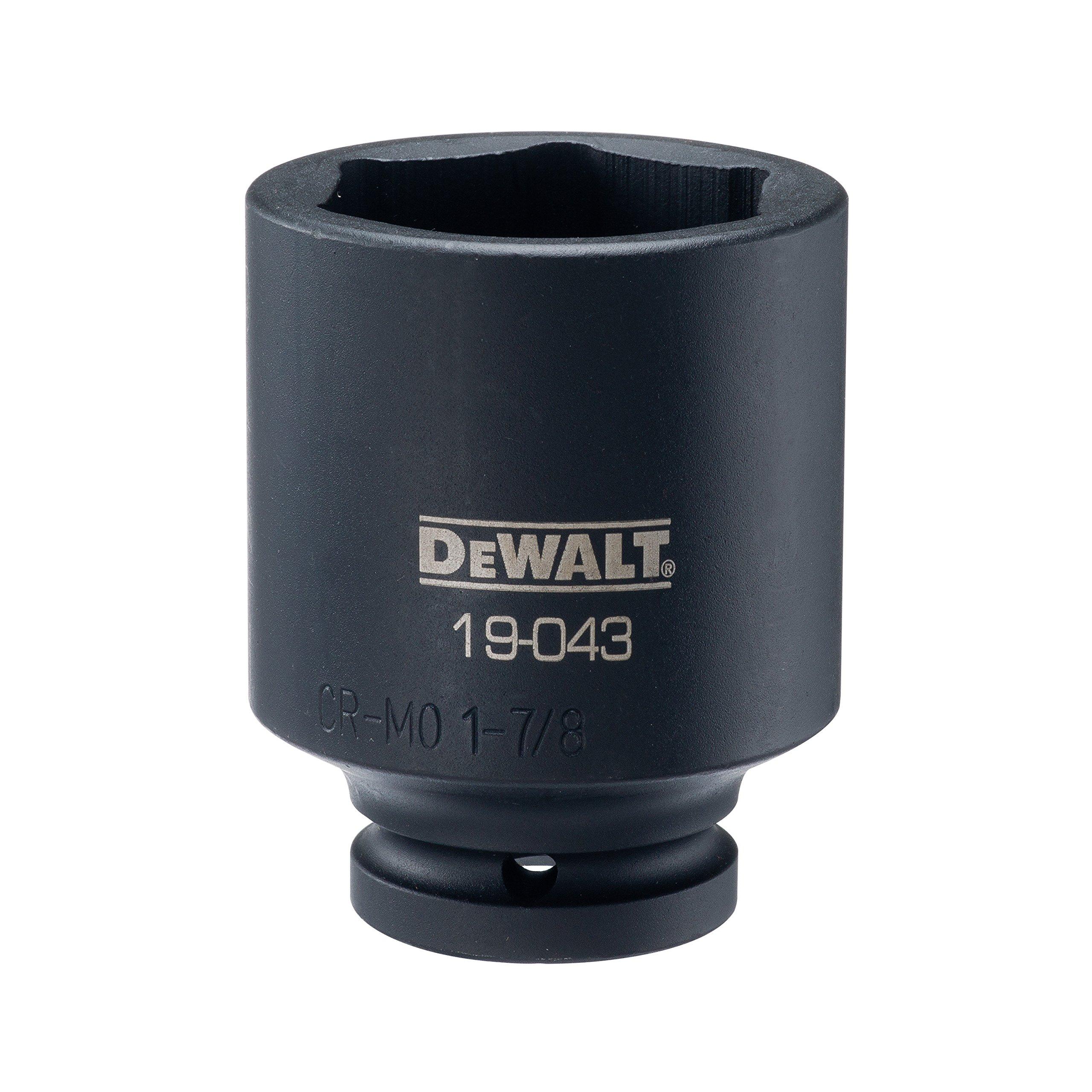 DEWALT 3/4'' Drive Impact Socket Deep 6PT 1 7/8