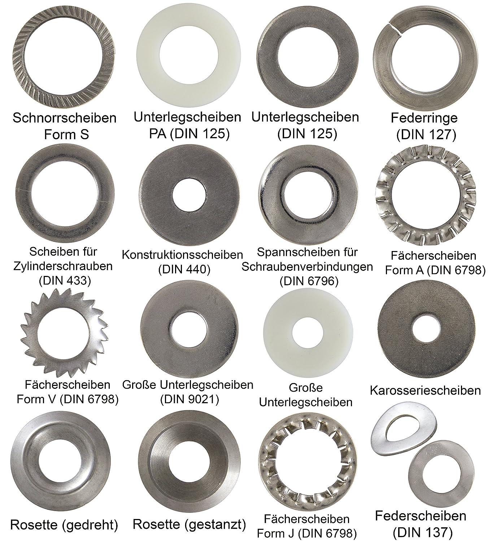 opiol Quality rosca Barras 1000/mm 4/pernos de pieza DIN 975/Acero Inoxidable A2/ varilla roscada rosca | | 1/metros