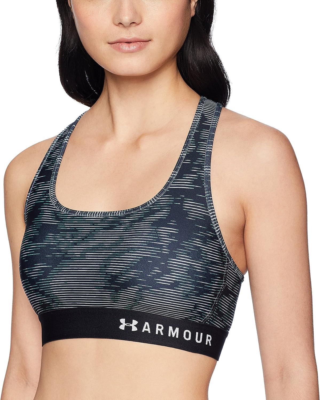 Under Armour Armour Mid Crossback - Sujetador Deportivo Mujer
