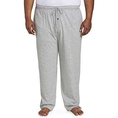 Essentials Men's Big & Tall Knit Pajama Pant fit by DXL: Clothing