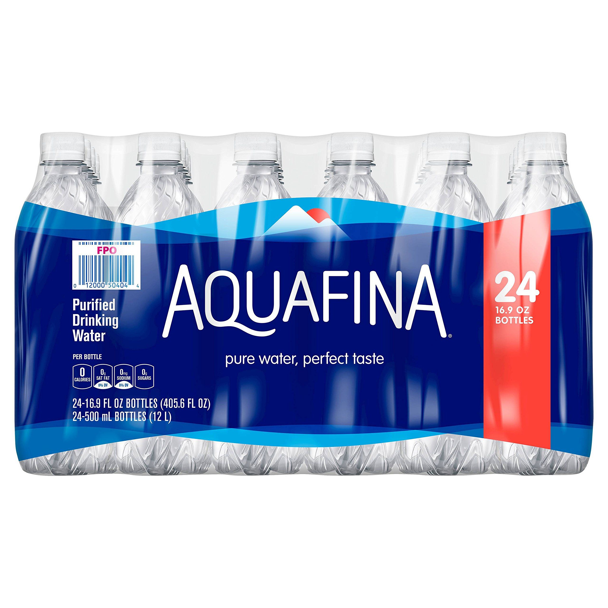 Aquafina Water, 16.9 oz (Pack of 24)