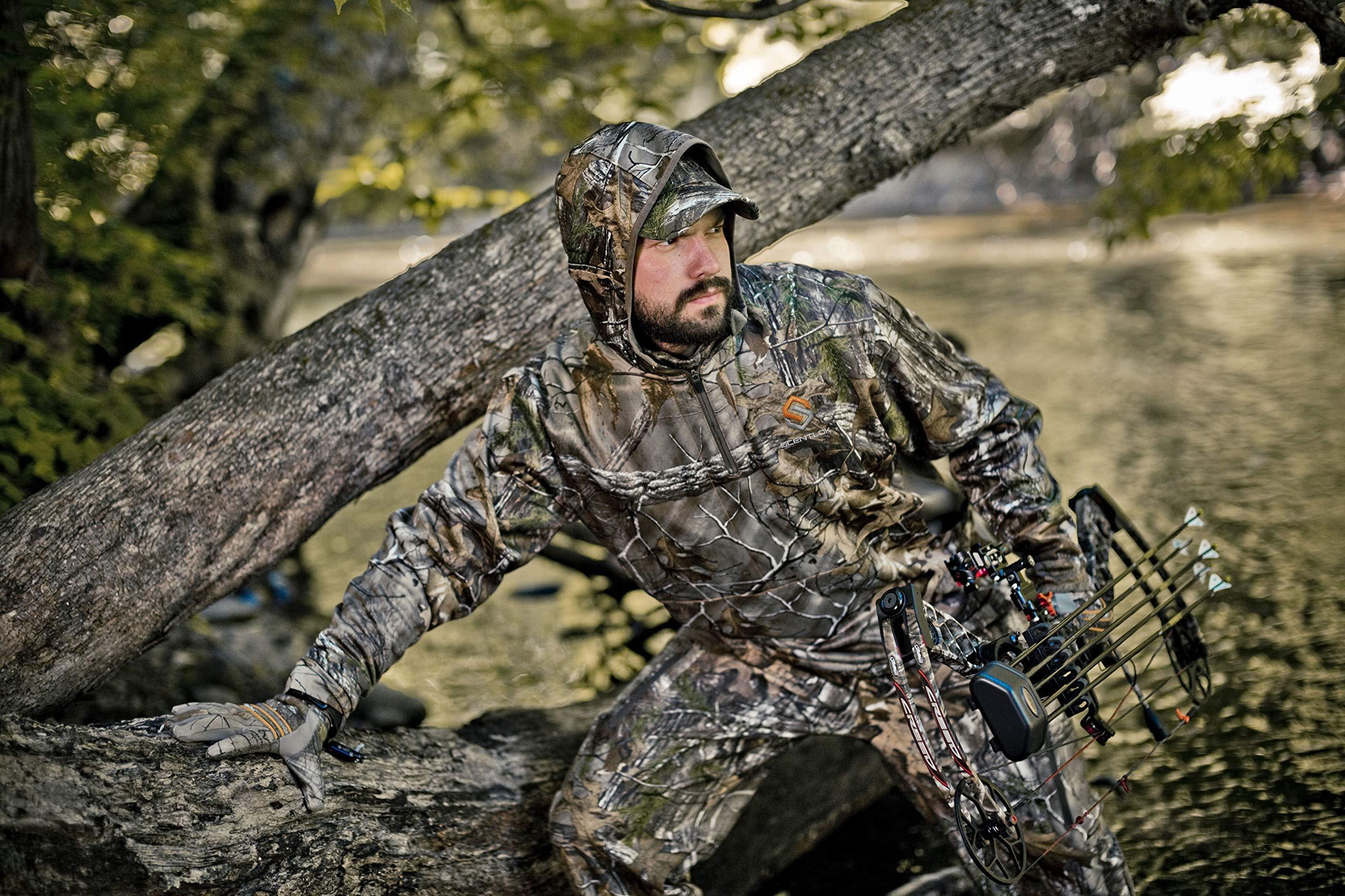 ScentLok Men Full Season TAKTIX Hunting Pants (Realtree Extra, Small)