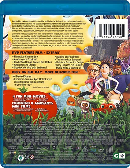 Amazon com: Cloudy with a Chance of Meatballs 2: Anna Faris