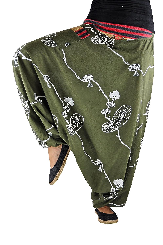 572dc07493e6 Sarouel virblatt unisexe pantalon ethnique avec tissages traditionnels