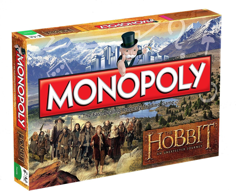 Monopoly The Hobbit - Juego de Mesa basado en El Hobbit (en inglés ...