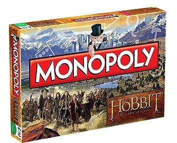 Monopoly The Hobbit - Juego de Mesa basado en El Hobbit (en inglés): Amazon.es: Juguetes y juegos