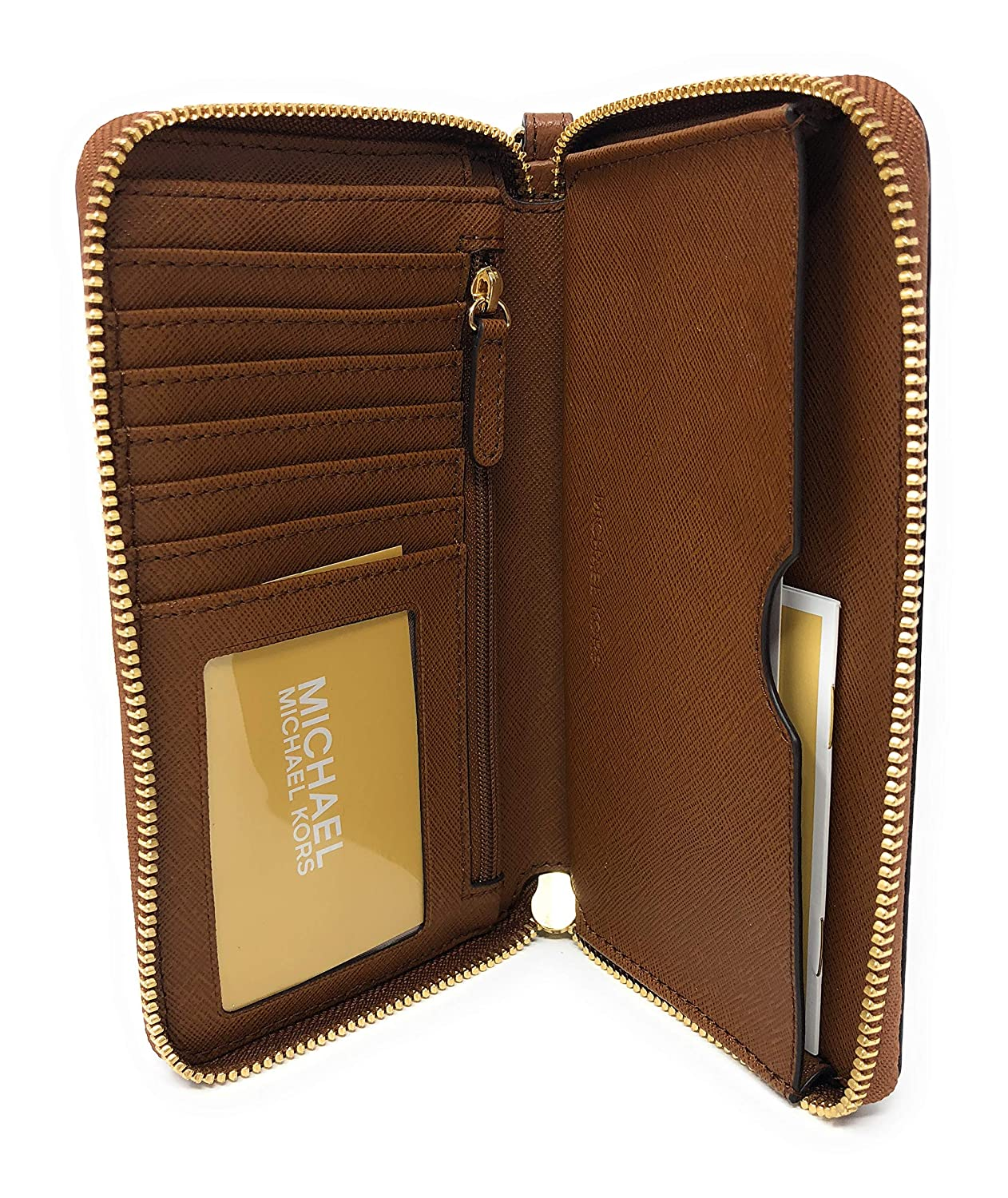 Michael Kors Hayes LG Flap Multi Function Phone Case Leather ...
