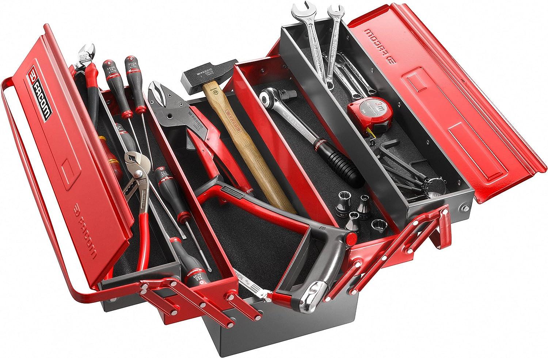 FACOM BT.11PG - Caja de herramientas de 5 compartimientos: Amazon.es: Bricolaje y herramientas