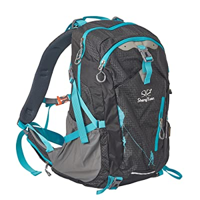 on sale Lucky Tree Hiking Backpack Waterproof Outdoor Sport Daypack with Rain Cover for Camping Traveling Cycling