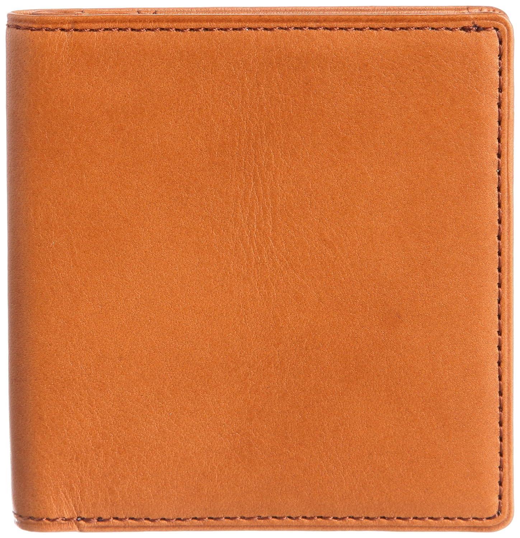 [スィンリー] THINly 財布 メンズ 二つ折り 薄型 日本製 B00ES5BGEW  キャメル