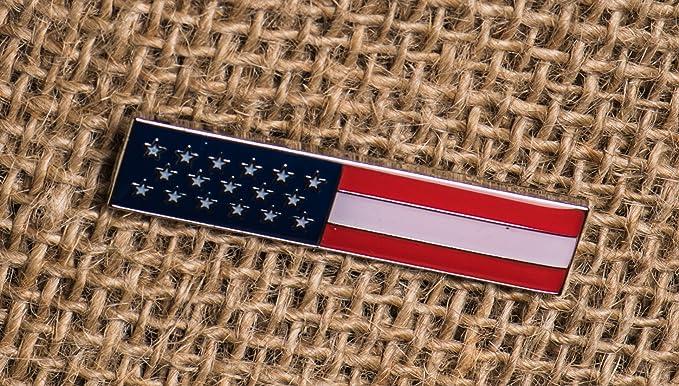 American Flag Citation Bar Pin