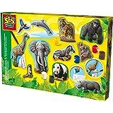 SES 01132 - Animali da Creare e Dipingere, Multicolore