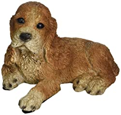 yellow labrador retriever puppy statue