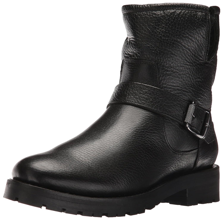 FRYE Women's Natalie Short Engineer Lug Shearling Winter Boot B01BM0QAQE 11 B(M) US Black