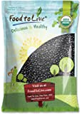 Food To Live Organic Black Turtle Beans (Dried, Non-GMO, Bulk) (10 Pounds)