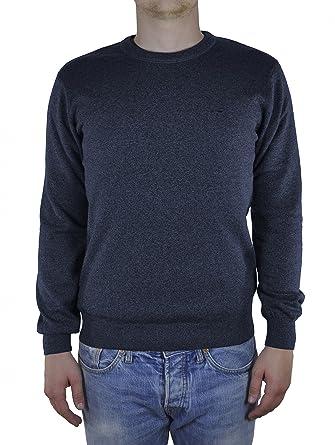 Redmond - Herren Rundhals Pullover aus reiner Baumwolle in verschiedenen  Farben (621)  Amazon.de  Bekleidung 964d08030b