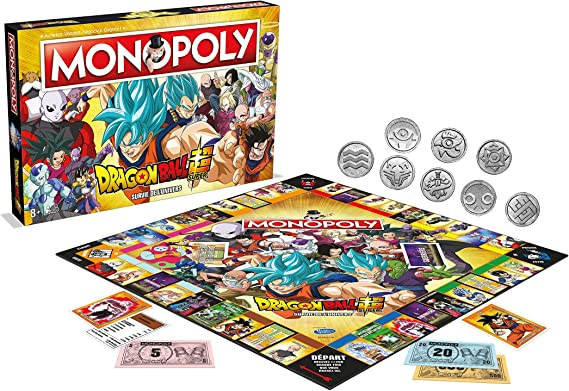 Dragon Ball Super - Monopoly Sobreviviencia del Universo: Amazon ...