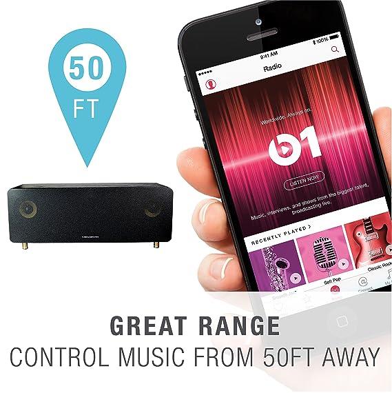 Amazon com: Mediabridge Concerto - Bluetooth Speaker w/ 60W Amp