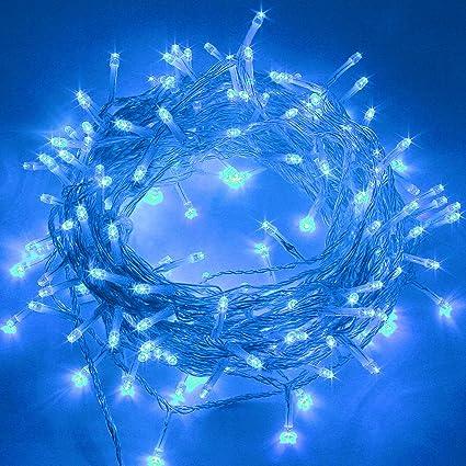 Twinkle Star 66Ft 200 Led Indoor String Lights Plug In String Light 8 Modes Wat