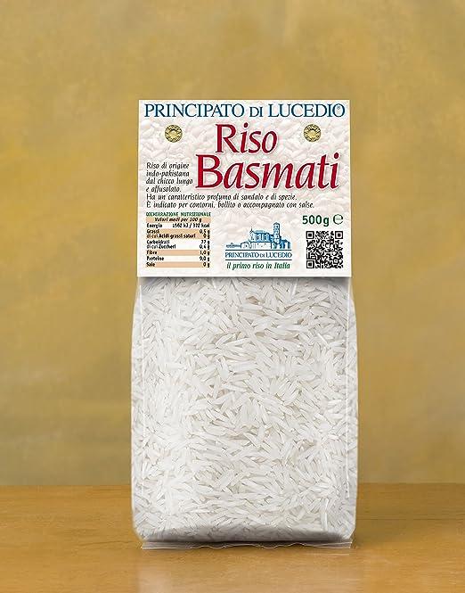 Arroz basmati - 1 kg - en bolsa de celofán con atmósfera ...