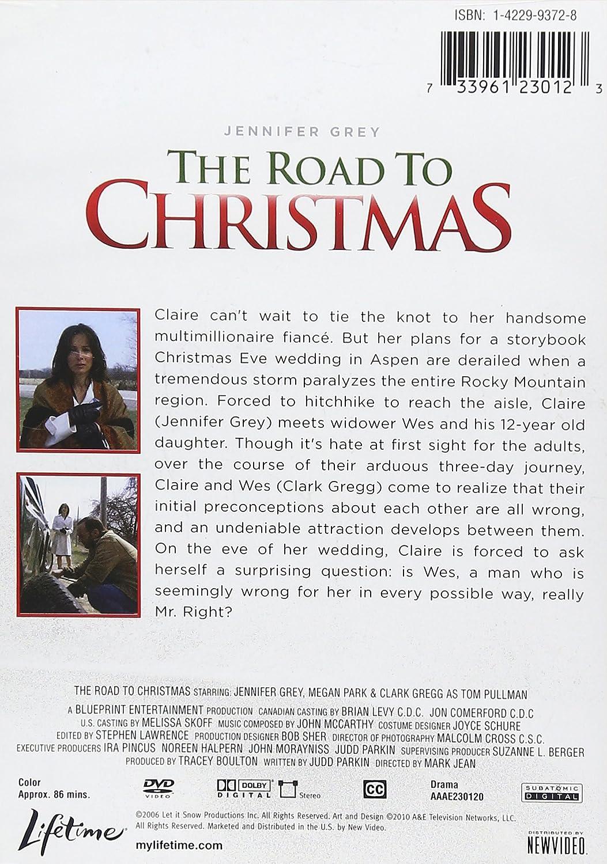 Amazon.com: The Road To Christmas [DVD]: Jennifer Grey, Megan Park ...