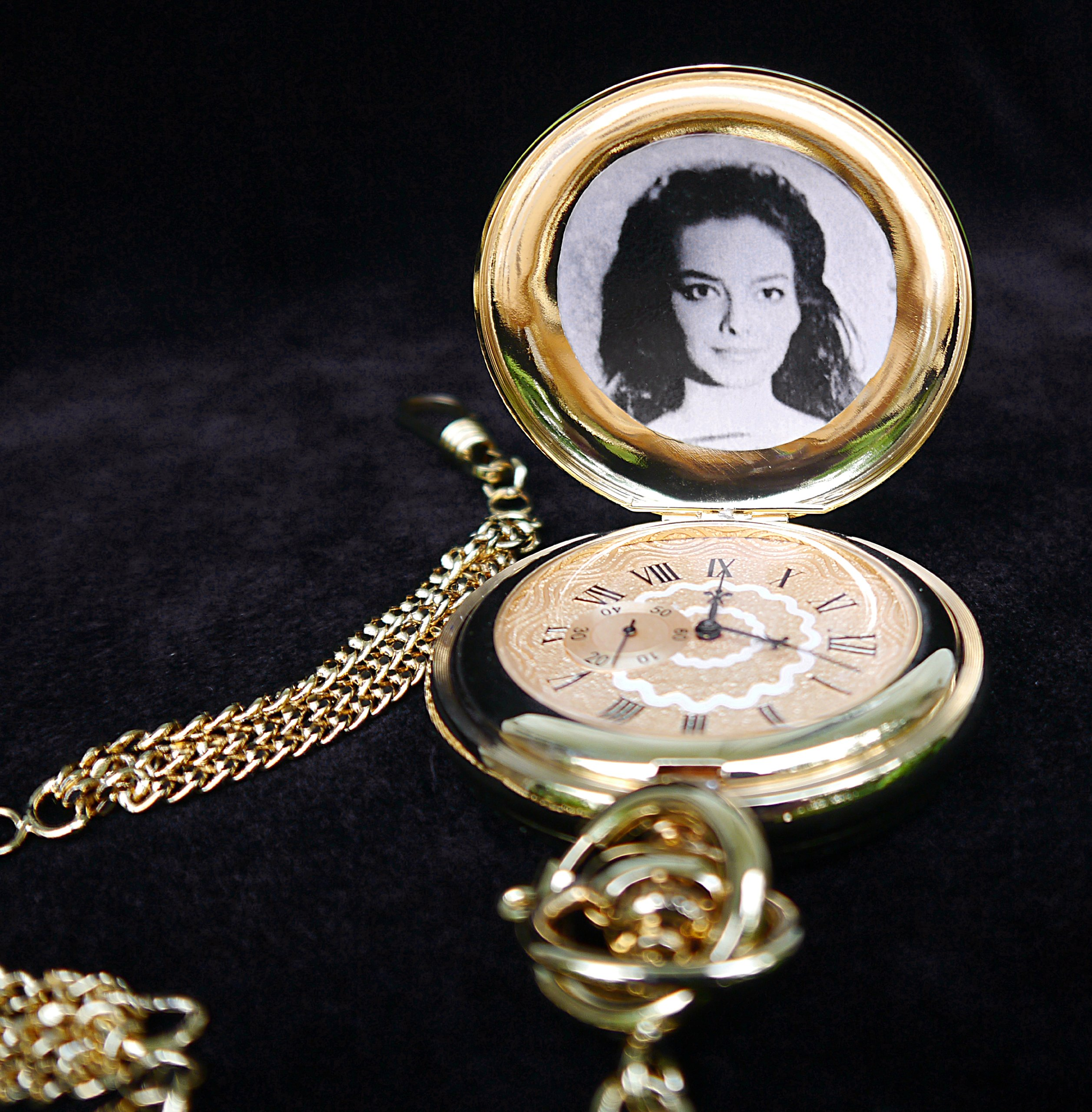 Music Pocket Watch Movie Prop from FOR A FEW DOLLARS MORE - Clint Eastwood + Lee Van Cleef - Great Gift by Straightline