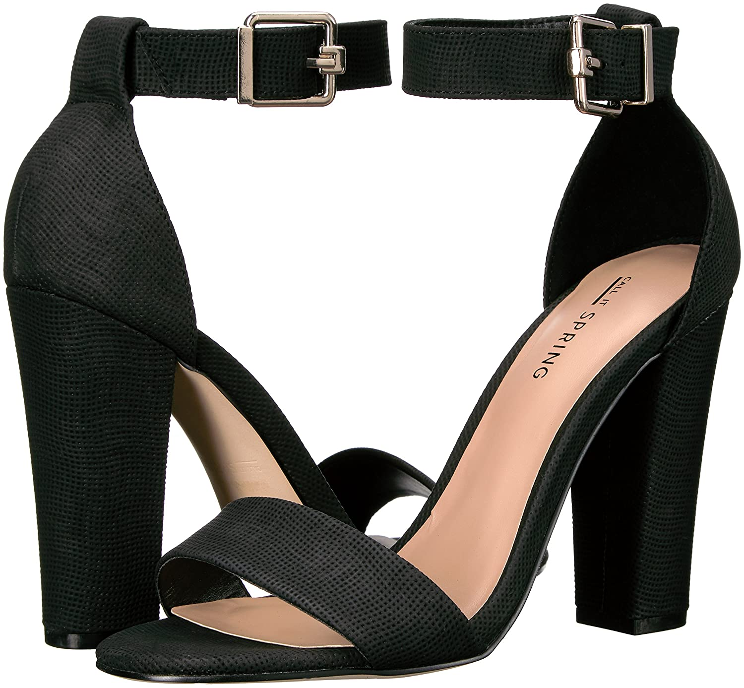 Call It Spring Arther Mujer US 8.5 Negro Sandalia: Amazon.es: Zapatos y complementos
