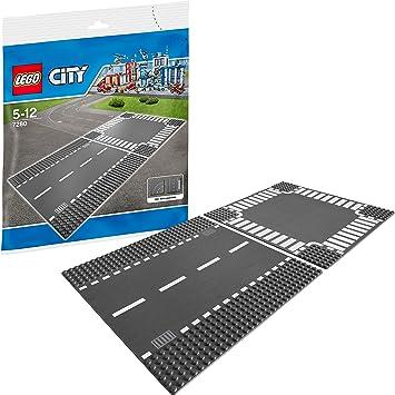 Lego City Route Droite Et Carrefour 7280 Jeu De Construction