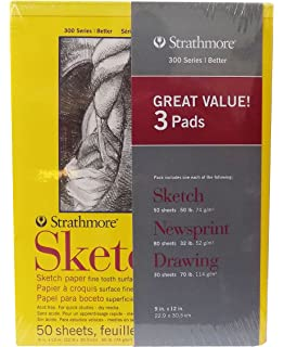 441-7 400 Series Wirebound Watercolor Art Journal, 10x7, 30 Sheets Strathmore