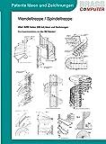 Wendeltreppe / Spindeltreppe, ca. 4200 Seiten (DIN A4) Ideen und Zeichnungen
