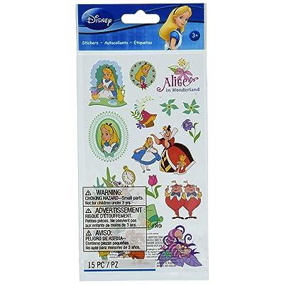 Disney Alice In Wonderland Sticker: Arts, Crafts & Sewing