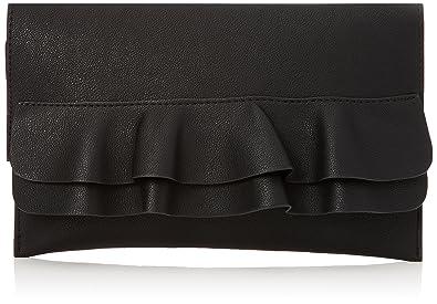 Womens Frill Flat Clutch Black (Black) New Look htmFEKkD6D