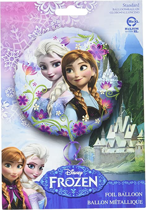 Anagram International Frozen Holographic Packaged Party Balloons 18-in Multicolo