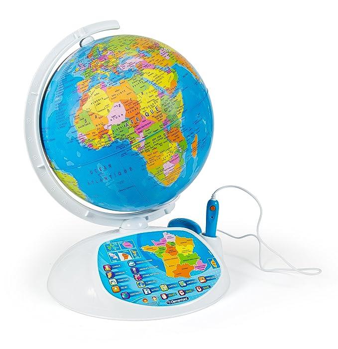 Amazon.com: Clementoni – 52202-exploraglobe 2016 – Das Globe interactif-jeu lehrreich: Toys & Games