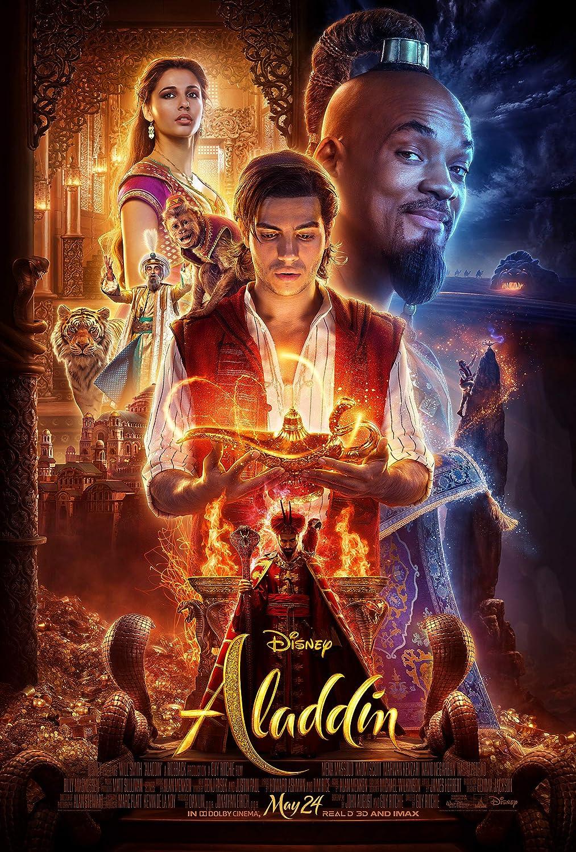 Amazon Com Newhorizon Aladdin 2019 Movie Poster 17 X 25 Not A Dvd Posters Prints