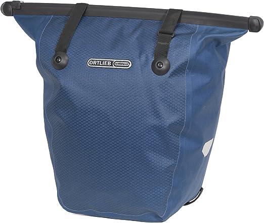 Ortlieb Bicicleta Bike-Shopper QL2, 1 Azul Acero, 32 x 17 x 42 cm ...