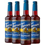 Torani Sugar Free Syrup, Raspberry, 25.4 Ounces (Pack of 4)
