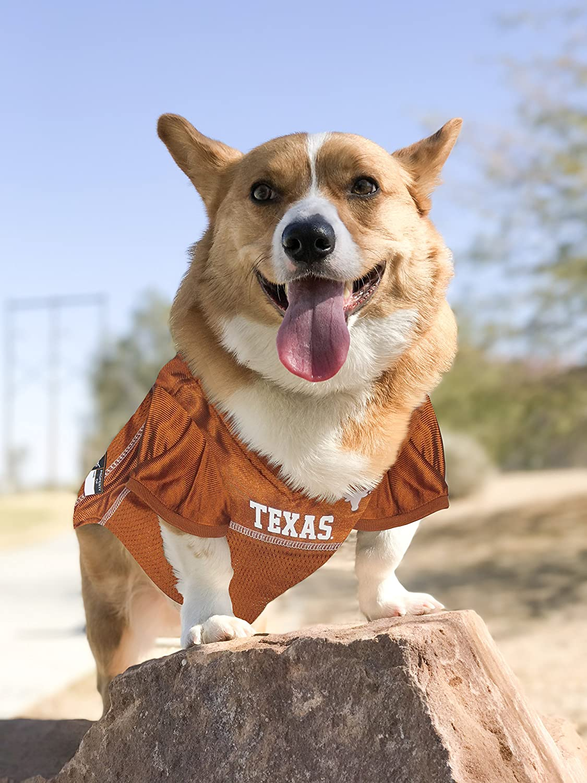 Pets First Collegiate Texas Longhorns Dog Mesh Jersey X-Small